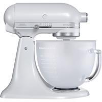 KitchenAid Artisan Küchenmaschine 5KSM156EFP frosted pearl Milch-Glasschüssel