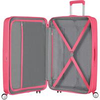 American Tourister Soundbox Spinner 77/28 Hot Pink erweiterbar