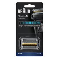 Braun Kombipack-Kassette Scherfolie Scherklinge 92B schwarz für Series 9