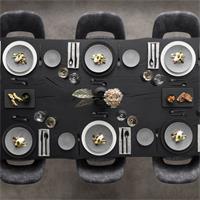 V&B Manufacture Rock Granit Brotteller 16 cm Teller klein rund grau spülmaschinenfest