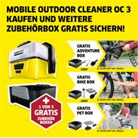 Kärcher Mobile Outdoor Reiniger OC3 mit Adventure Box
