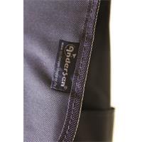 Andersen Royal Shopper Lis grau Streifen 43 Liter Einkaufsroller