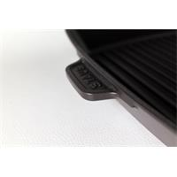 Staub Amerikanische Grillpfanne 26 x 26 cm quadratisch schwarz 40501-106
