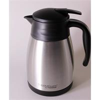 Thermos Isolierkanne Thermo Cafe Edelstahl 1 Liter