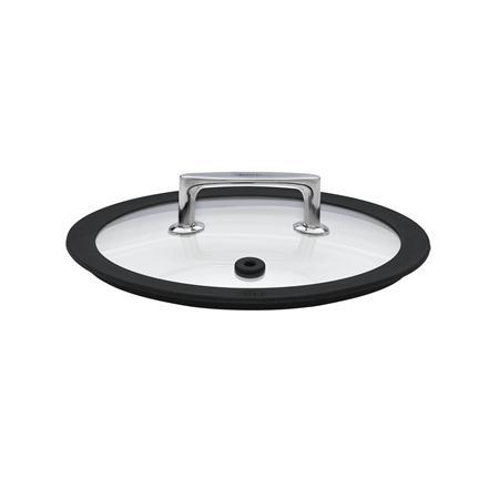 r sle silcence glasdeckel 20cm ersatzteil silikonring schwarz silikonabschluss. Black Bedroom Furniture Sets. Home Design Ideas