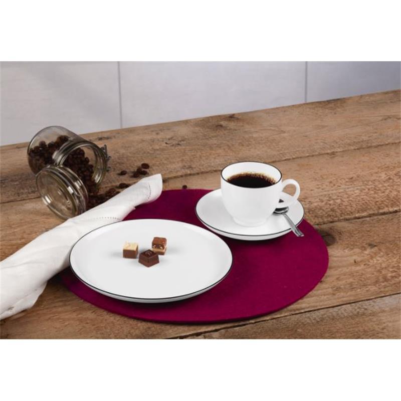 seltmann lido black line kaffeeservice 18 teilig. Black Bedroom Furniture Sets. Home Design Ideas