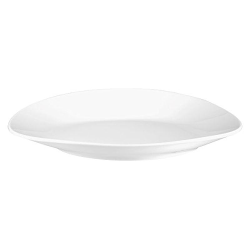 Seltmann No Limits Organic Gourmetteller flach 34,5 cm Teller Gourmet weiß
