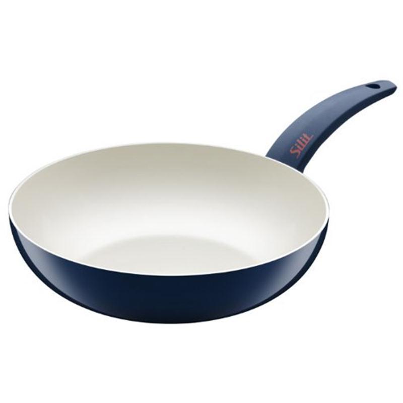 silit wok pfanne selara 28 cm hoch blau. Black Bedroom Furniture Sets. Home Design Ideas