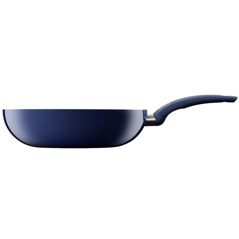 silit wok pfanne selara 28 cm blau wokpfanne aluguss 400 c. Black Bedroom Furniture Sets. Home Design Ideas