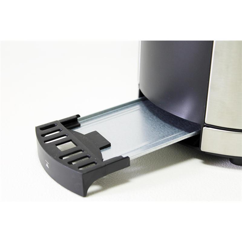 WMF Toaster Lono Cromargan 041409011 Edelstahl gebürstet 2 Schlitz