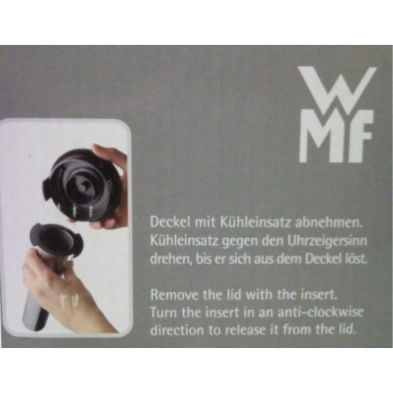 WMF Krug mit Kühlstab KULT Kühlkrug Glas Edelstahl Kühl Kalte Ente Saftkrug