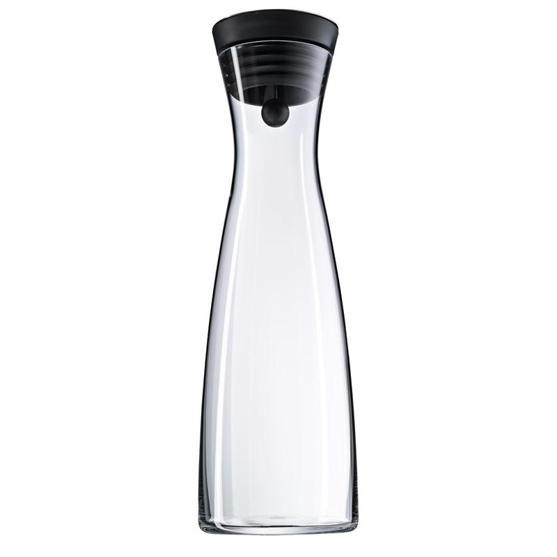 wmf basic wasserkaraffe glas 1 5 ltr sw verschlu. Black Bedroom Furniture Sets. Home Design Ideas