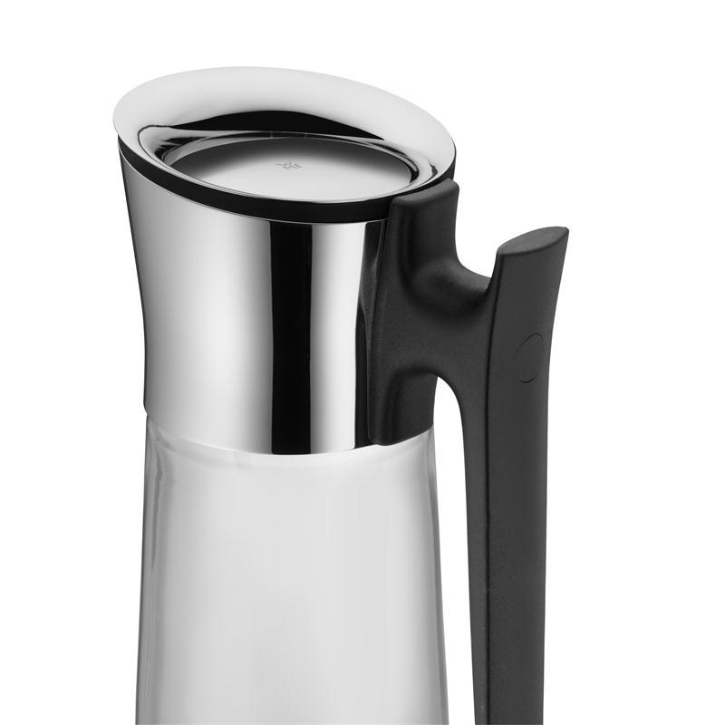 WMF Basic Wasserkaraffe 1,5 ltr mit schwarzem Griff