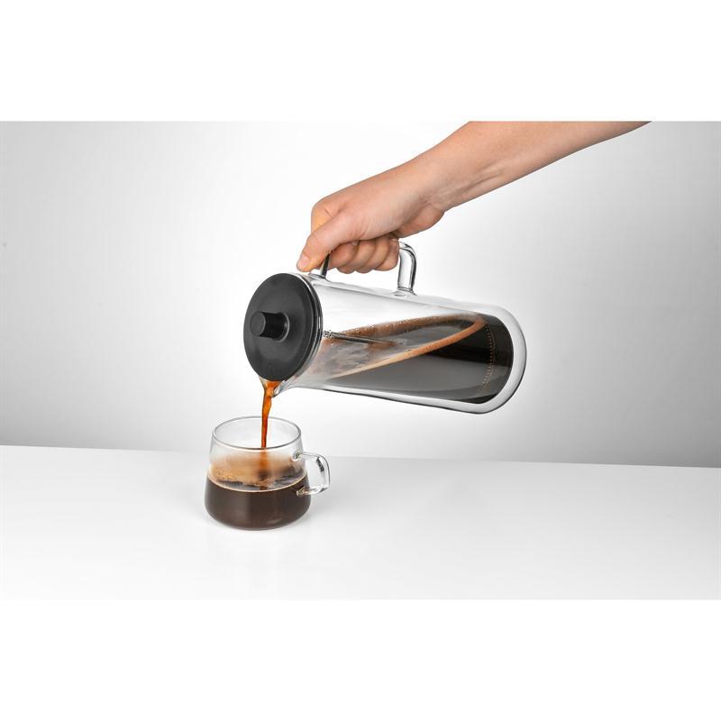 WMF Coffee Time French Press Kaffeekanne 0,75 l.Glaskanne Kaffeebereiter doppelw