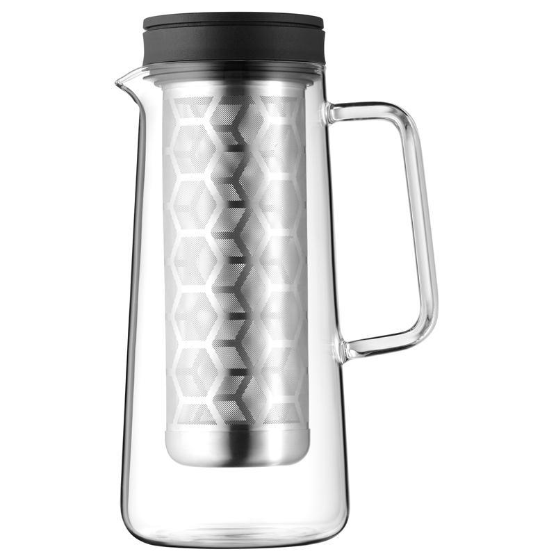 WMF Coffee Time Light Brew Kaffeekanne 0,7ltr. Glaskanne Edelstahl Sieb