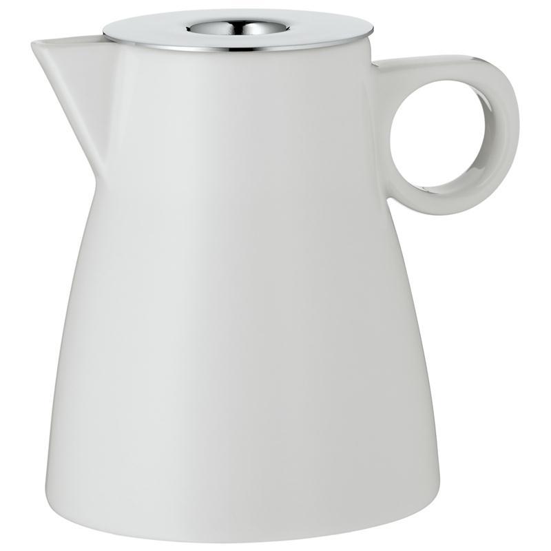 WMF Barista Sahnekännchen Milchgießer Gießer Kännchen Porzellan Edelstahldeckel