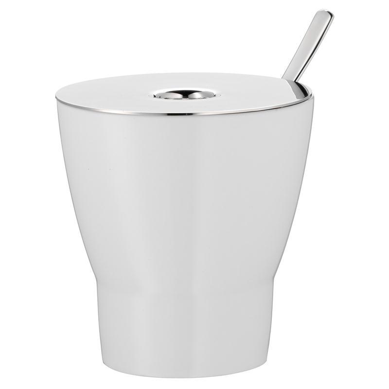 WMF Barista Zuckerdose Dose mit Löffel   Porzellan mit Edelstahldeckel
