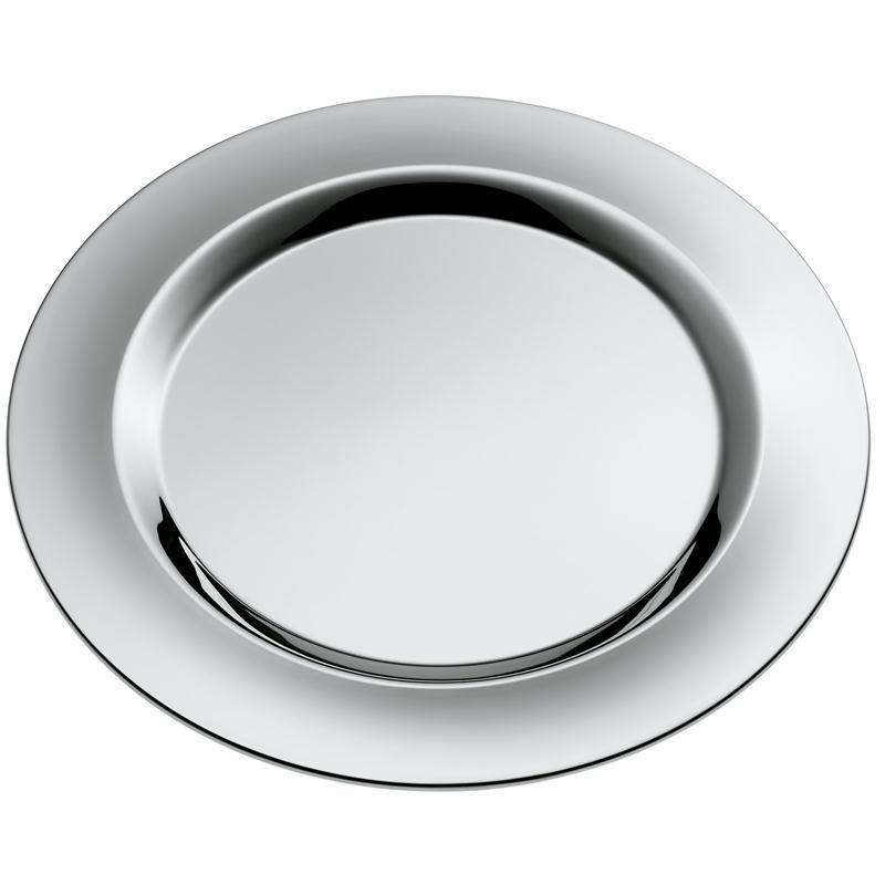 wmf jette 2 platzteller 33 poliert gourmetteller platte edelstahl sehr edel. Black Bedroom Furniture Sets. Home Design Ideas