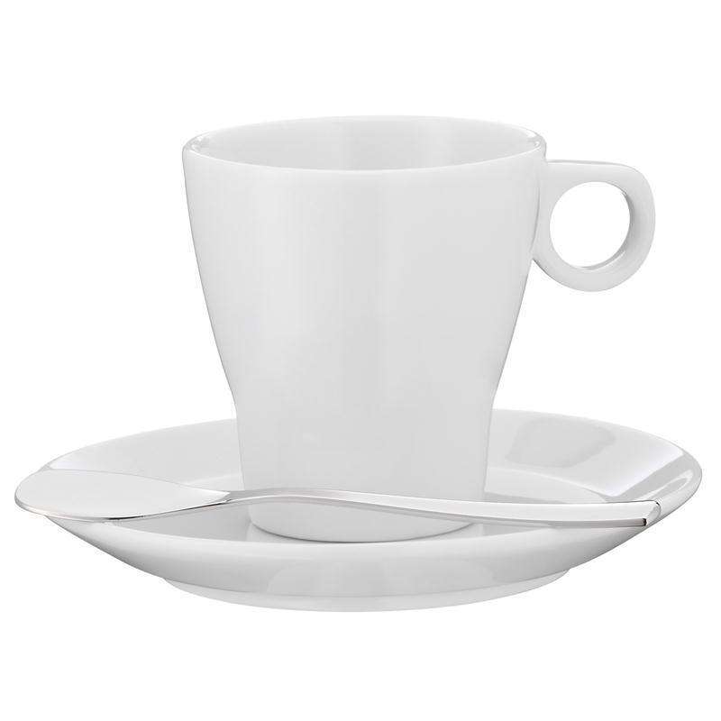 WMF Barista Espressotasse mit Edelstahl Paddel  Mokkatasse 2 tlg.
