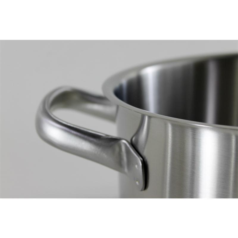 WMF Gourmet Plus Bratentopf 24 cm 4,1 ltr Induktion  matt Aufliege Metalldeckel