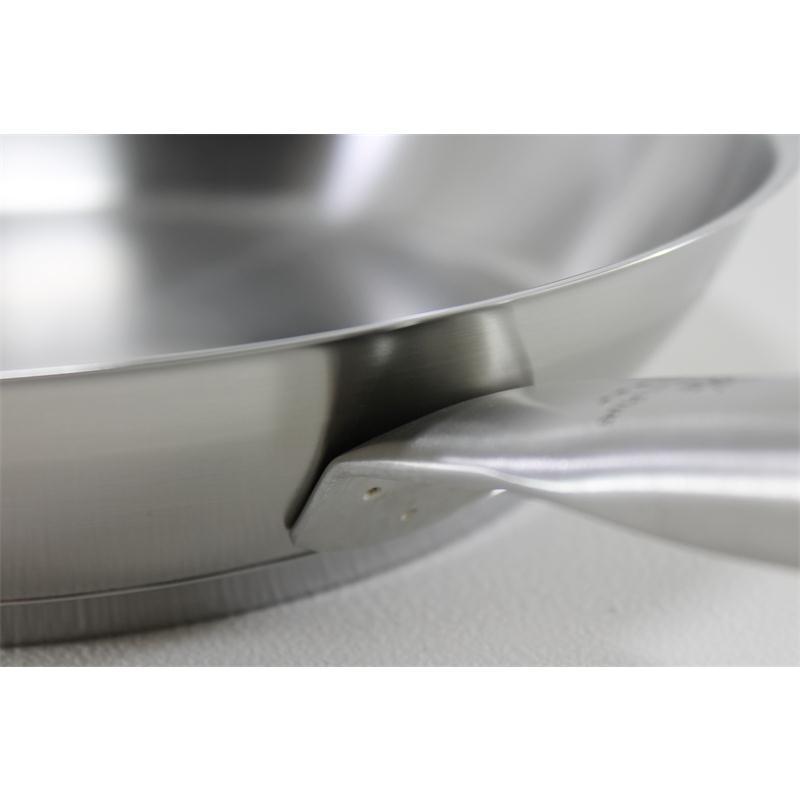 WMF Bratpfanne Gourmet Plus 24 cm Pfanne Edelstahl Stielpfanne matt