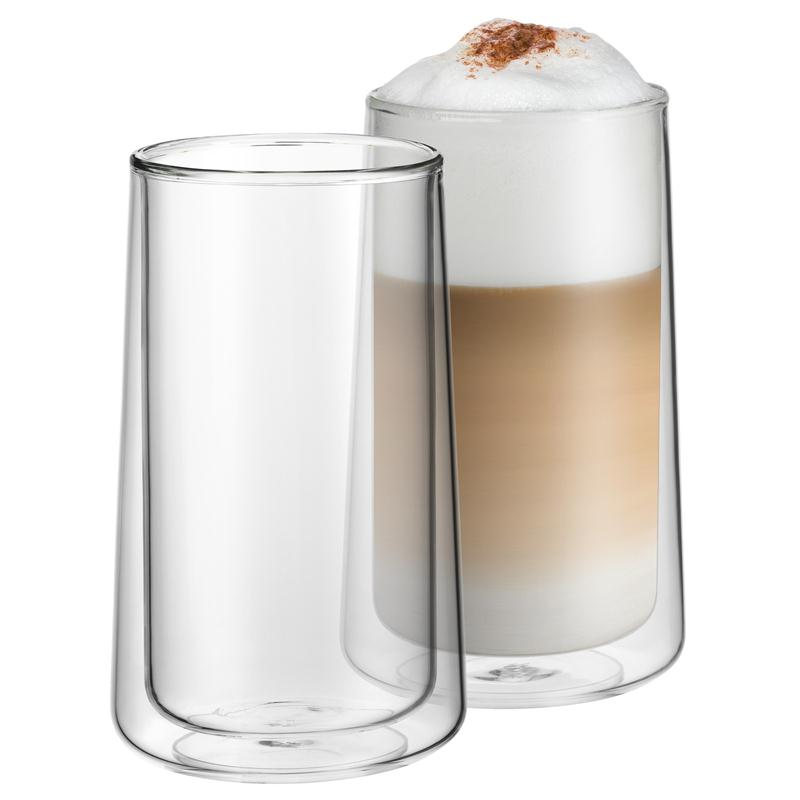 wmf coffee time set 2 latte macchiato glas doppelwandig geschenkkarton thermo 4000530680884 ebay. Black Bedroom Furniture Sets. Home Design Ideas