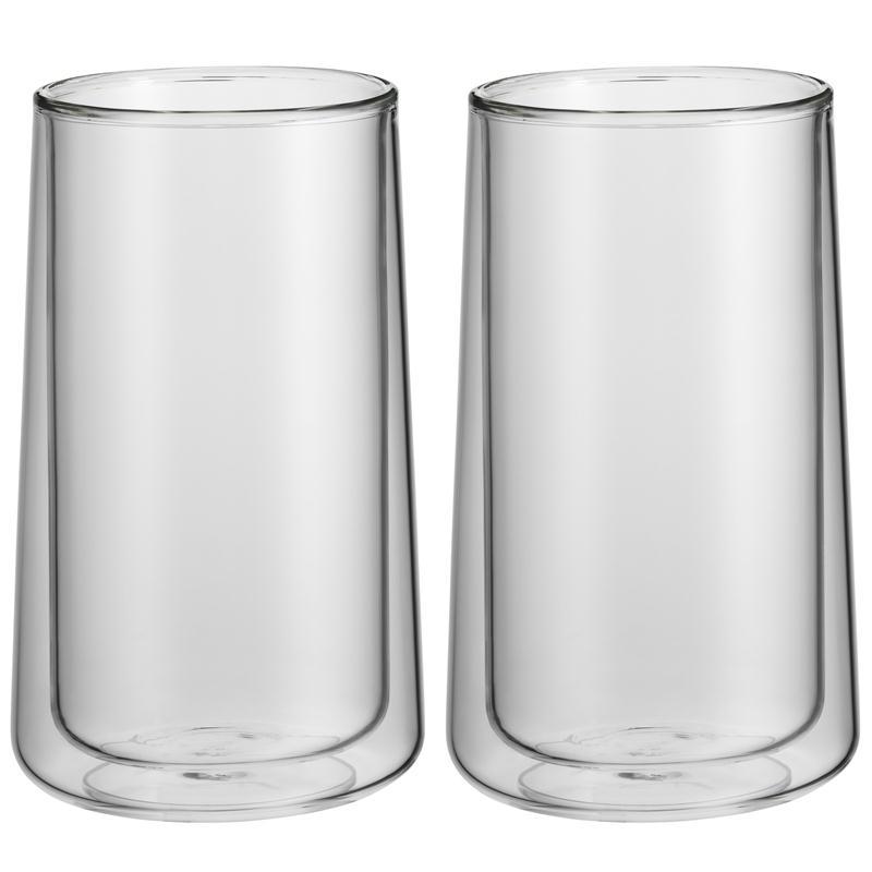 WMF Coffee Time Set 2 Latte Macchiato Glas  doppelwandig Geschenkkarton Thermo