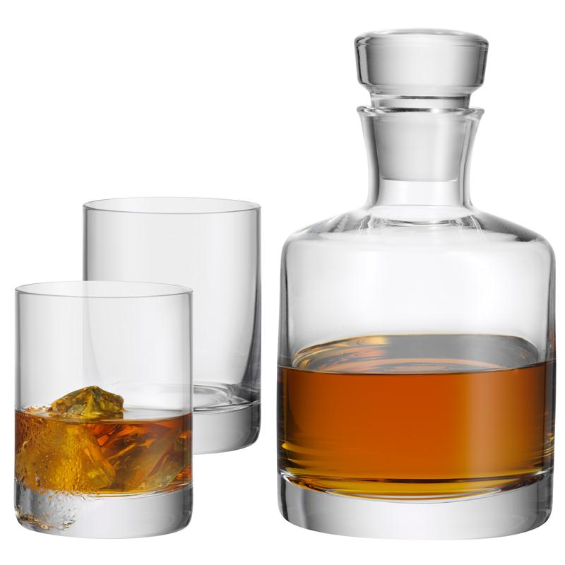 wmf whisky set 3 tlg whiskyflasche 2 gl ser karaffe whisky whiskyset ebay. Black Bedroom Furniture Sets. Home Design Ideas