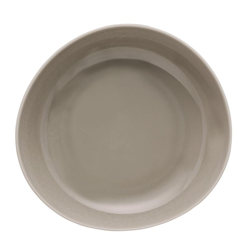 Rosenthal Junto Pearl Grey Teller tief 22 cm Suppenteller