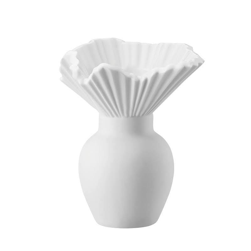 rosenthal vase falda weiss matt 10 cm miniaturvase. Black Bedroom Furniture Sets. Home Design Ideas