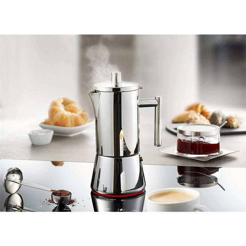 gefu nando espressokocher 6 tassen induktion. Black Bedroom Furniture Sets. Home Design Ideas
