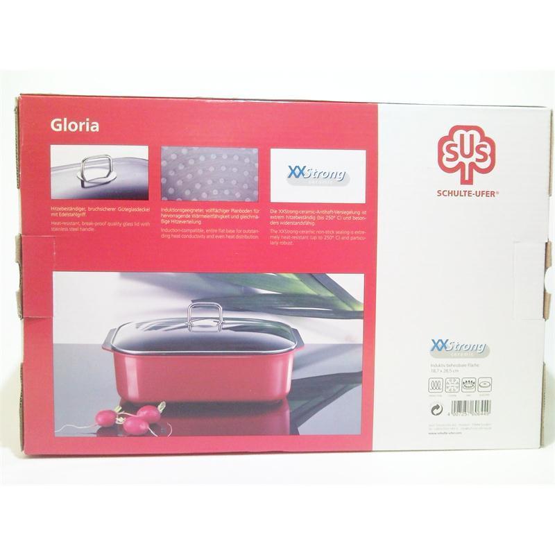 schulte ufer gloria alu guss br ter 34x24 cm induktion bratentopf schmortopf ebay. Black Bedroom Furniture Sets. Home Design Ideas