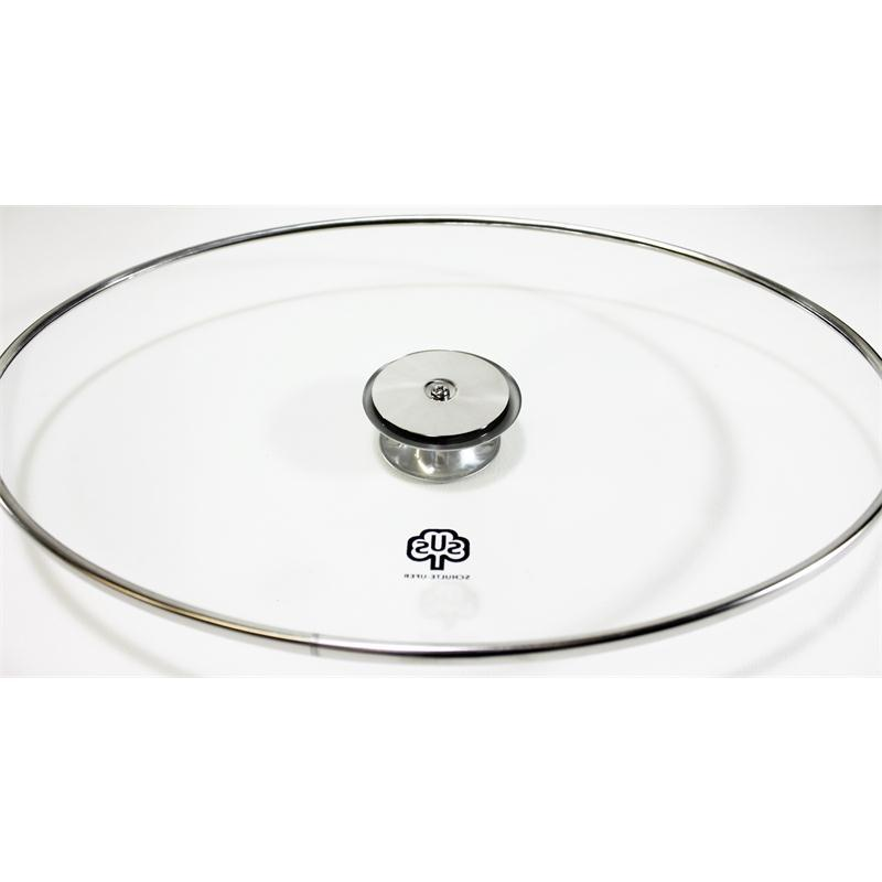 Schulte-Ufer Alles-Bräter 32cm oval Alu versiegelt Glasdeckel 4,3 ltr.Volumen