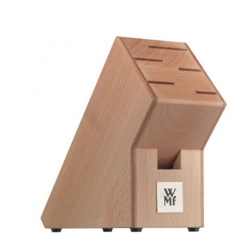 wmf classic line 6 tlg messerblock messerset buchenblock 5 messer block ebay. Black Bedroom Furniture Sets. Home Design Ideas