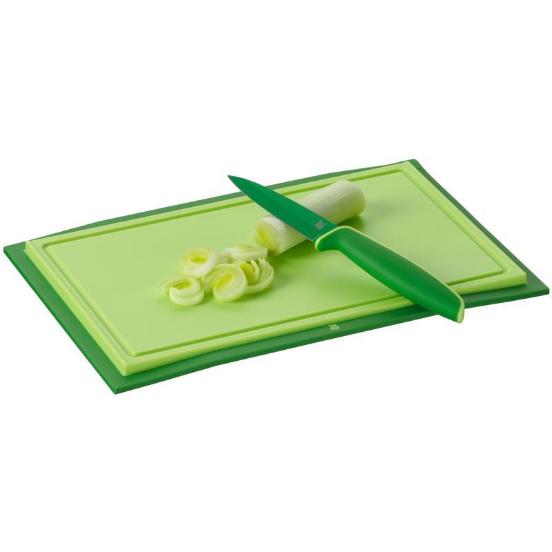 WMF Schneidbrett Touch 32 x 20 cm grün Schneidebrett Kunststoff klingenschonend