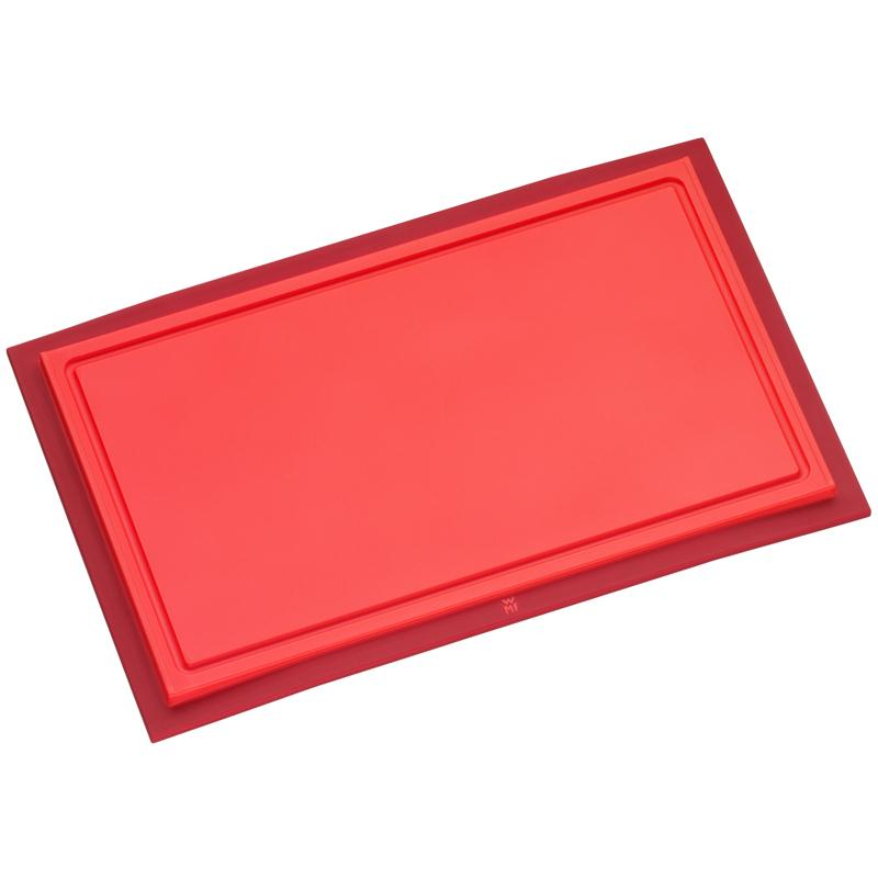 WMF Schneidbrett Touch 32 x 20 cm rot Schneidebrett Kunststoff klingenschonend
