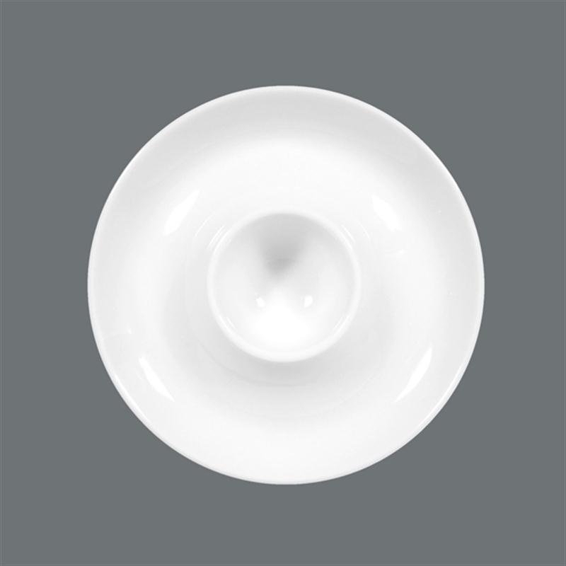 Seltmann Compact weiß Eierbecher mit Ablage Becher für Eier