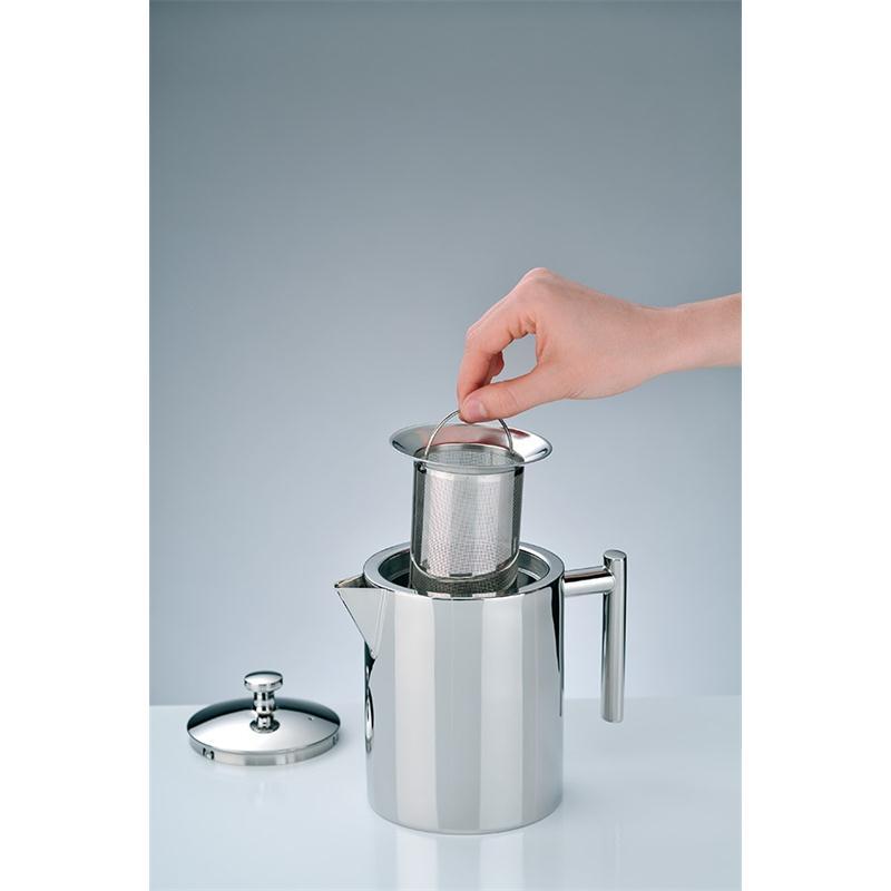 alfi Teekanne II 1,4 Liter Edelstahl mit Teesieb spülmaschinenfest