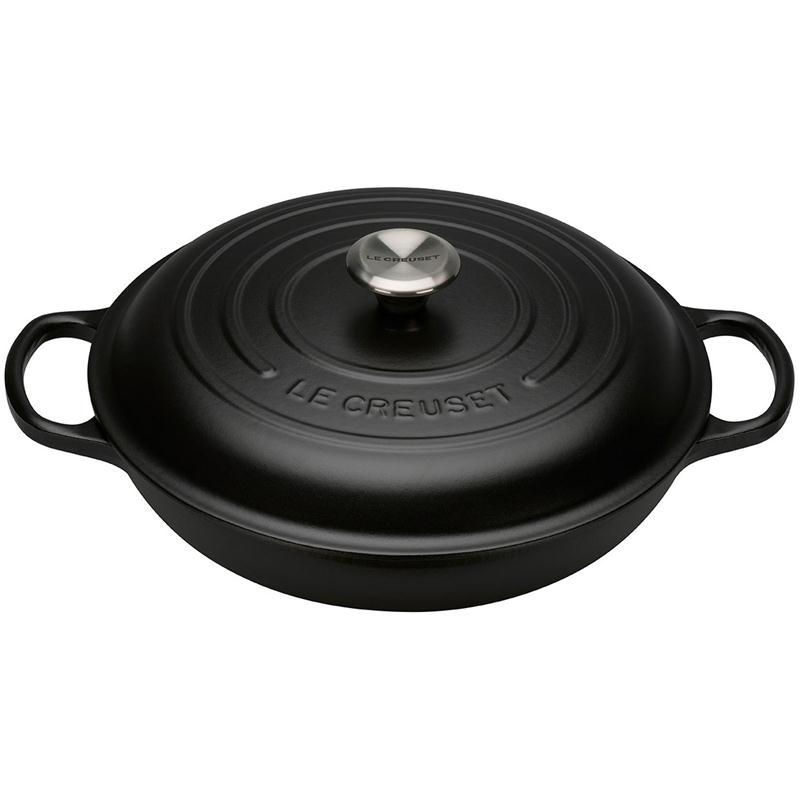 le creuset gourmet profitopf schw signature. Black Bedroom Furniture Sets. Home Design Ideas