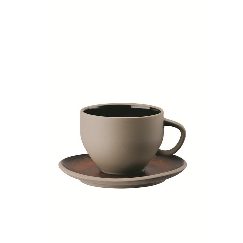 rosenthal junto shiny bronze kombitasse 0 28 liter geschenkkarton. Black Bedroom Furniture Sets. Home Design Ideas
