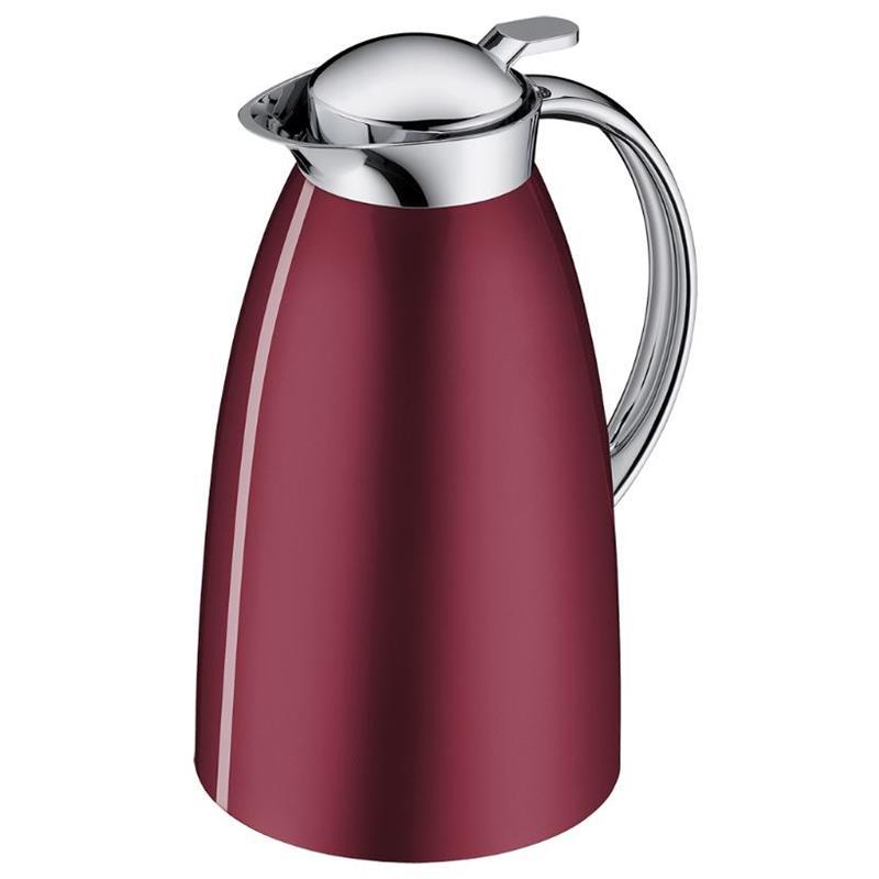 Alfi Isolierkanne Gusto Kaffeekanne Teekanne Iso Kanne Edelstahl Saphirblau 1 L