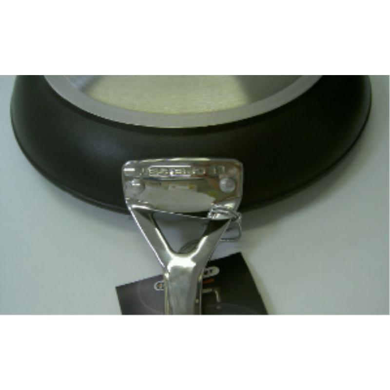 Le Creuset Aluminium Pfannen Set 20 + 26 cm Induktion versiegelt Alu
