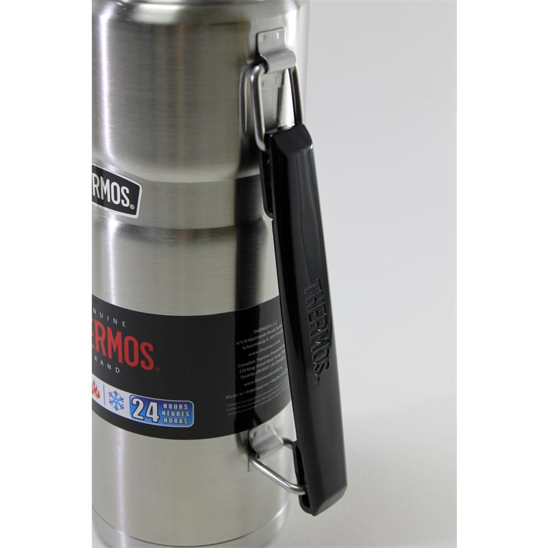 thermos isolierflasche stainless king blue 1 2 liter blau mit trinkbecher 5010576904201 ebay. Black Bedroom Furniture Sets. Home Design Ideas