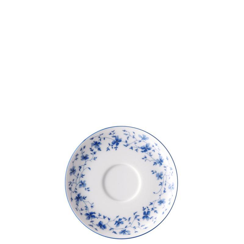 Arzberg Form 1382 Blaublüten Tee Untertasse klein 13,5 cm Untere