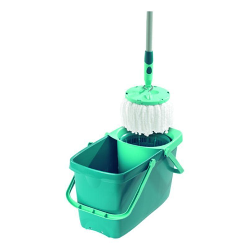 leifheit set twist system mop 52019 wischmop mit eimer. Black Bedroom Furniture Sets. Home Design Ideas