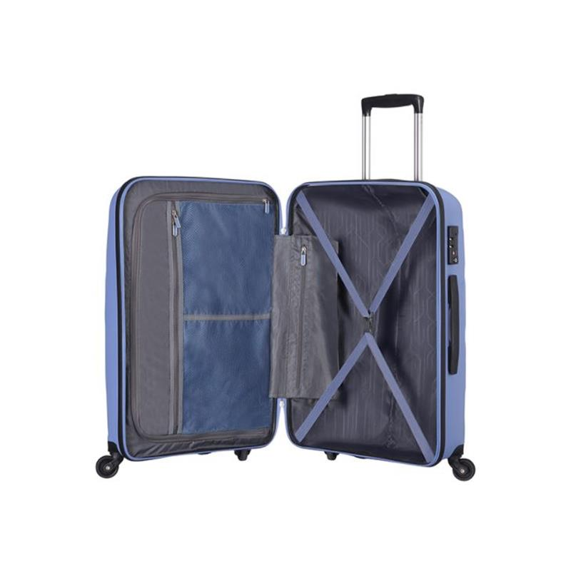 American Tourister Bon Air Spinner M 66/25 deep porcelain blue