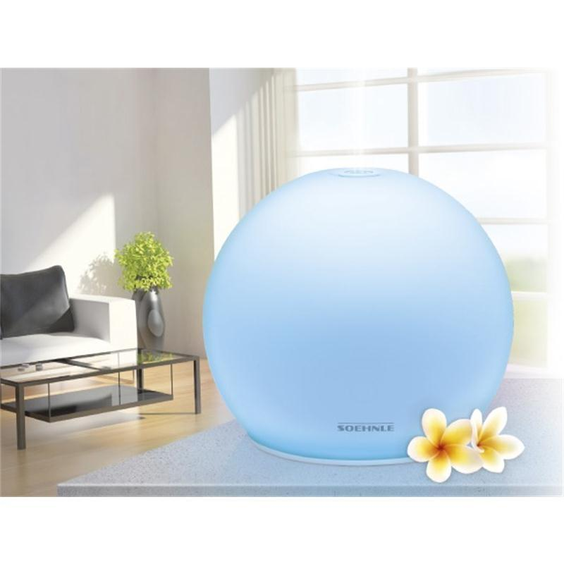 soehnle aroma diffuser venezia mehrfabige led mit universaltuch 68078 ebay. Black Bedroom Furniture Sets. Home Design Ideas