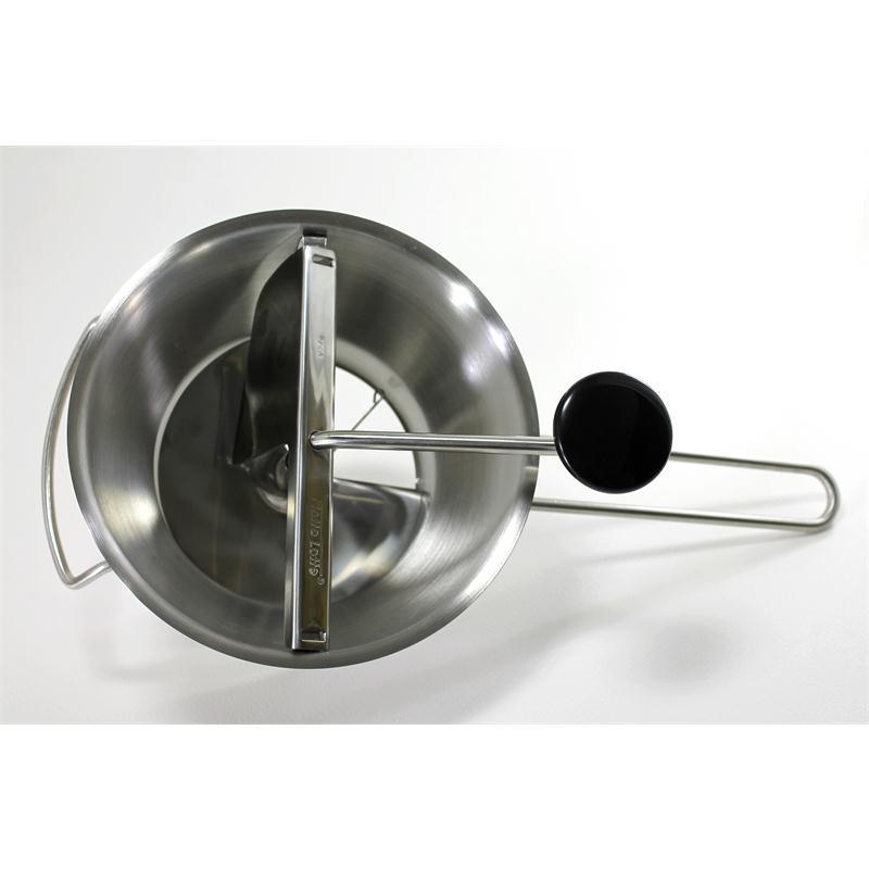 gefu passiersieb flotte lotte edelstahl mit 3 lochscheiben. Black Bedroom Furniture Sets. Home Design Ideas