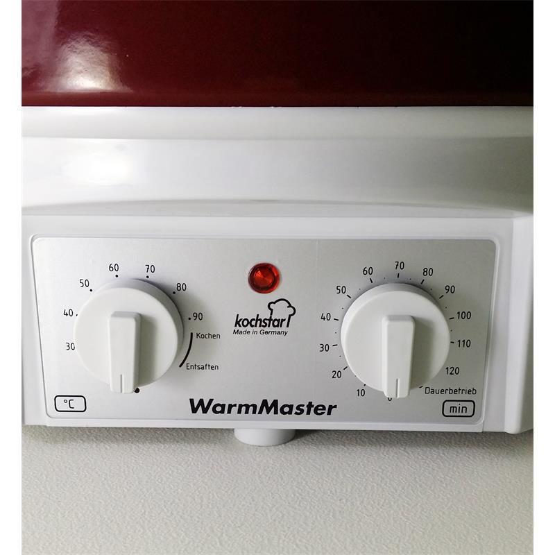 kochstar warmmaster s rot einkocher mit uhr 27 liter einkochautomat timer ohne hahn. Black Bedroom Furniture Sets. Home Design Ideas
