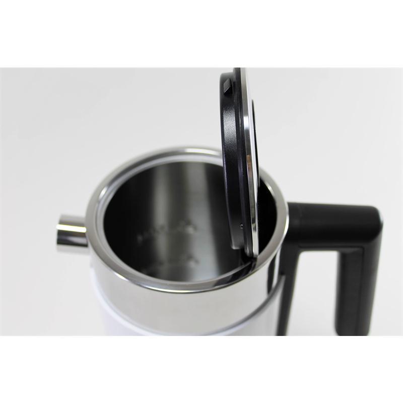 graef edelstahl wasserkocher wk401 wei wk 401 1 liter f llmenge ebay. Black Bedroom Furniture Sets. Home Design Ideas